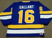 GORD GALLANT Minnesota Fighting Saints 1974 WHA Throwback Hockey Jersey