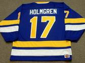 PAUL HOLMGREN Minnesota Fighting Saints 1975 WHA Throwback Hockey Jersey