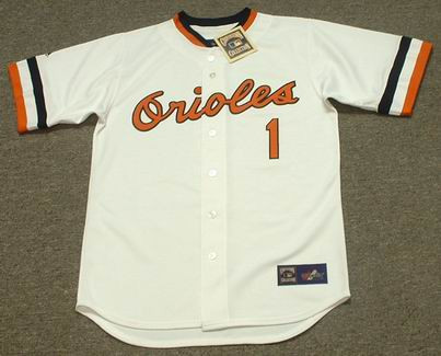 AL BUMBRY Baltimore Orioles 1983 Majestic Cooperstown Retro Baseball Jersey - FRONT