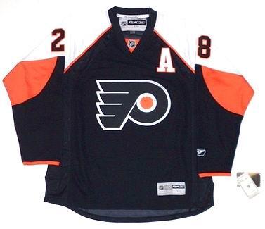 865deb444 CLAUDE GIROUX Philadelphia Flyers 2010 REEBOK Throwback Home NHL Hockey  Jersey - Custom Throwback Jerseys