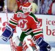 "MARTIN BRODEUR New Jersey Devils 1992 ""Rookie"" Away  CCM NHL Vintage Throwback Jersey - ACTION"
