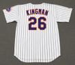 DAVE KINGMAN New York Mets 1975 Home Majestic Baseball Throwback Jersey - BACK