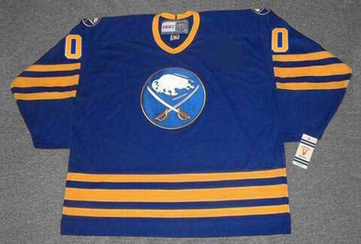 92cc8020f Customized 1980's Away CCM Buffalo Sabres Retro Jersey - BACK. See 3 more  pictures