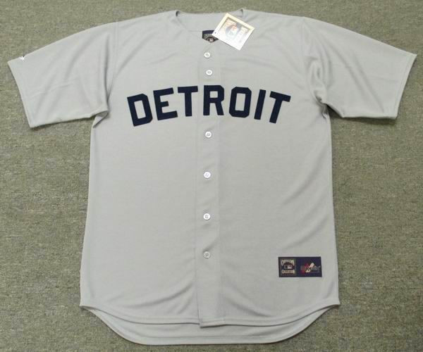 bf861e70eb0 DETROIT TIGERS 1960 s Majestic Cooperstown Throwback Baseball Jersey -  Custom Throwback Jerseys
