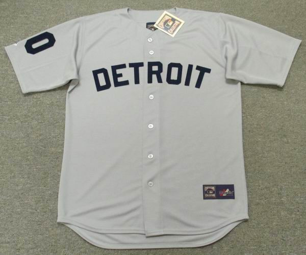 7e1a516d2 DETROIT TIGERS 1960's Majestic Cooperstown Jersey Customized