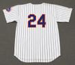 ART SHAMSKY New York Mets 1969 Home Majestic Baseball Throwback Jersey - BACK