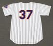 CASEY STENGEL New York Mets 1962 Home Majestic Baseball Throwback Jersey - BACK