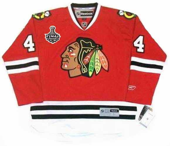 wholesale dealer b2db7 d3c4e NIKLAS HJALMARSSON Chicago Blackhawks 2010 REEBOK Throwback NHL Hockey  Jersey