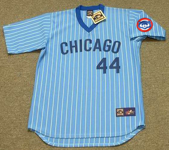 fa8f88bea KEN REITZ Chicago Cubs 1981 Majestic Cooperstown Away Baseball Jersey - Custom  Throwback Jerseys