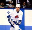 DALE HUNTER Quebec Nordiques 1985 Home CCM Vintage Throwback Hockey Jersey - ACTION