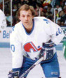 GUY LAFLEUR Quebec Nordiques 1990 Home CCM Vintage Throwback Hockey Jersey - ACTION
