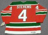 SCOTT STEVENS New Jersey Devils 1991 CCM Vintage Throwback NHL Away Jersey