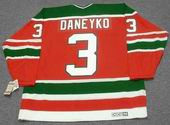 KEN DANEYKO New Jersey Devils 1988 Away CCM Vintage Throwback NHL Hockey Jersey - BACK
