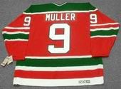 KIRK MULLER New Jersey Devils 1988 CCM Vintage Throwback NHL Hockey Jersey