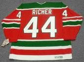 STEPHANE RICHER New Jersey Devils 1991 CCM Vintage Throwback NHL Hockey Jersey