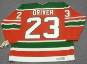BRUCE DRIVER New Jersey Devils 1988 CCM Vintage Throwback NHL Hockey Jersey
