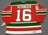 PAT VERBEEK New Jersey Devils 1988 CCM Vintage Throwback NHL Hockey Jersey