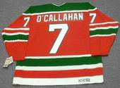 JACK O'CALLAHAN New Jersey Devils 1988 CCM Vintage Throwback NHL Hockey Jersey