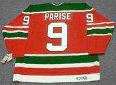 ZACH PARISE New Jersey Devils 1980's CCM Vintage Throwback NHL Hockey Jersey