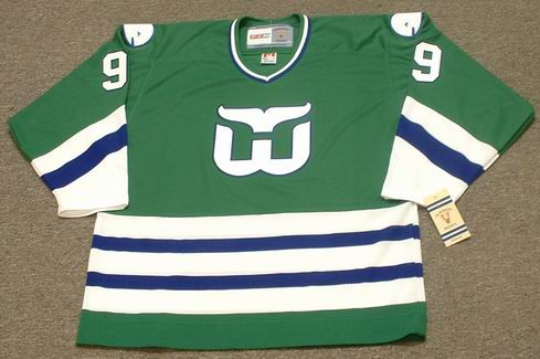 new style 10bdc a827e GORDIE HOWE Hartford Whalers 1979 Away CCM NHL Vintage Throwback Jersey