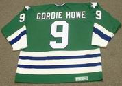 GORDIE HOWE 1979 Away CCM Hartford Whalers Jersey - BACK