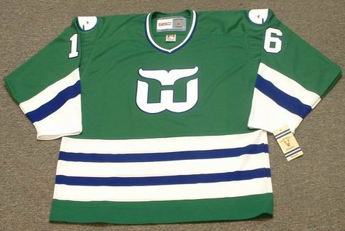 BOBBY HULL 1979 CCM Hartford Whalers Jersey - FRONT