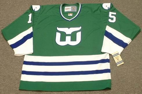 DAVE TIPPETT Hartford Whalers 1983 CCM Vintage Throwback NHL Hockey Jersey