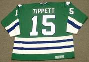 DAVE TIPPETT 1983 CCM Hartford Whalers Jersey - BACK