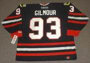 DOUG GILMOUR Chicago Blackhawks 1999 CCM Throwback Alternate NHL Hockey Jersey
