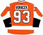 JAKUB VORACEK Philadelphia Flyers 2014 REEBOK Throwback NHL Hockey Jersey