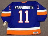 DARIUS KASPARAITIS New York Islanders 1993 Away CCM Vintage Throwback Hockey - BACK