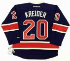 CHRIS KREIDER New York Rangers 2014 REEBOK Throwback NHL Hockey Jersey