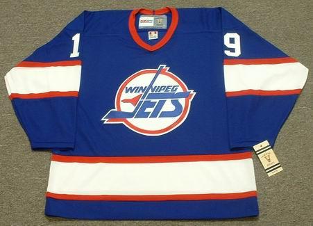 e1451d36b84 SHANE DOAN Winnipeg Jets 1995 CCM Vintage Throwback Away NHL Hockey Jersey  - Custom Throwback Jerseys