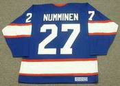 TEPPO NUMMINEN Winnipeg Jets 1995 CCM Vintage Throwback Away NHL Hockey Jersey
