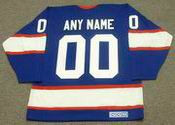 "WINNIPEG JETS 1990's CCM Vintage Away Jersey Customized ""Any Name & Number(s)"""