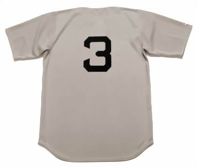best loved 0d2ec a92ba BABE RUTH New York Yankees 1929 Away Majestic Throwback Baseball Jersey
