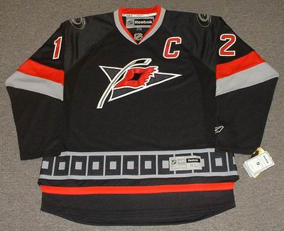 1c30a12c ERIC STAAL Carolina Hurricanes 2010 REEBOK Throwback NHL Hockey Jersey - Custom  Throwback Jerseys