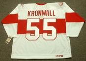 NIKLAS KRONWALL Detroit Red Wings 1920's CCM Vintage Throwback NHL Hockey Jersey
