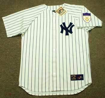 Casey Stengel 1951 New York Yankees Cooperstown Retro Home Throwback Baseball Jersey - FRONT