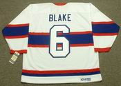 TOE BLAKE Montreal Canadiens 1946 CCM Vintage Throwback NHL Jersey