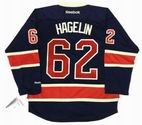 CARL HAGELIN New York Rangers REEBOK Alternate Home NHL Hockey Jersey