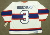 EMILE BOUCHARD Montreal Canadiens 1946 CCM Vintage Throwback NHL Jersey