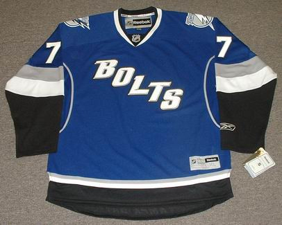 competitive price 1b703 99f77 VICTOR HEDMAN Tampa Bay Lightning 2012 REEBOK Throwback NHL Hockey Jersey