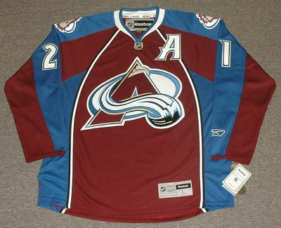 first rate 36f02 60ac8 forsberg avalanche jersey