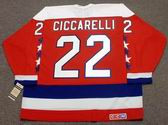 DINO CICCARELLI Washington Capitals 1990 CCM Vintage Throwback NHL Hockey Jersey