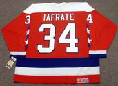 AL IAFRATE 1992 CCM Vintage Throwback Washington Capitals jersey - BACK