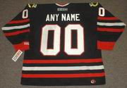 "CHICAGO BLACKHAWKS CCM Alternate Home Hockey Jersey Customized with ""Any Name & Number(s)"""
