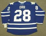 COLTON ORR Toronto Maple Leafs 2010 REEBOK Throwback NHL Hockey Jersey
