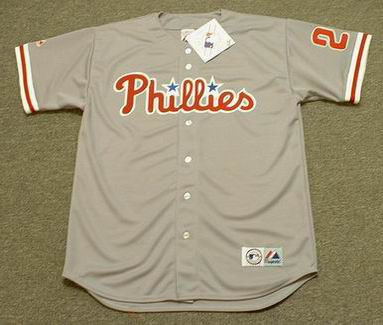 46e09b22a CHASE UTLEY Philadelphia Phillies 2008 Majestic Throwback Away Baseball  Jersey - Custom Throwback Jerseys