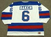 BILL BAKER 1980 USA Olympic Hockey Jersey